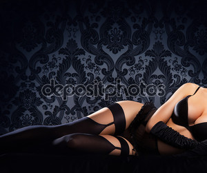 Сексуальная женщина в белье