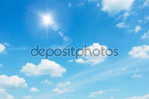Чистое ясное небо