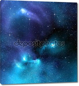 Звездное фоне глубокого космоса