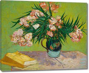 Ван Гог. Натюрморт: ваза с олеандрами и книгами