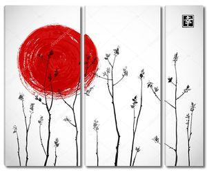 Ветви деревьев с Красного Солнца