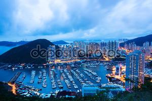 Жилое здание в Гонконге