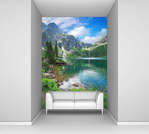 Озеро в горах Татры
