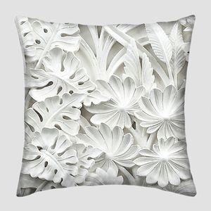 Балийский растительный орнамент