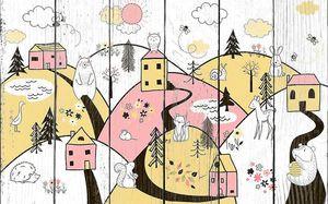 Детские домики в горах