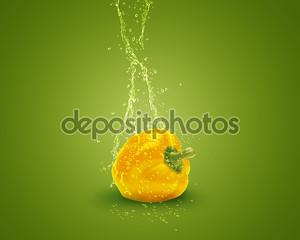 Желтый сладкий перец