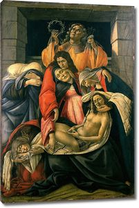 Боттичелли Сандро. Оплакивание Христа