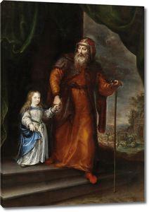 Франсиско Камило. Святой Иоахим с маленькой Девой Марией