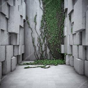 Архитектурное современное пространство