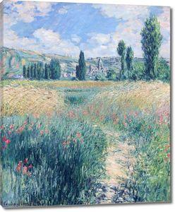 Моне Клод. Дорога на острове Святого Мартина, 1881