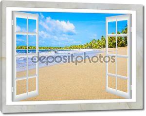 океанское окно представления