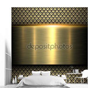 Металлическая текстура золотого оттенка