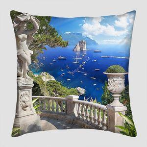 Средиземноморский пейзаж с веранды