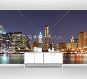 Манхэттен с Бруклинским мостом