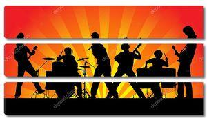 Рок-группа .