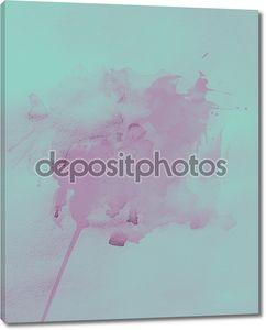 акварель абстракция