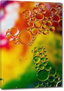 Красочный фон с пузыриками