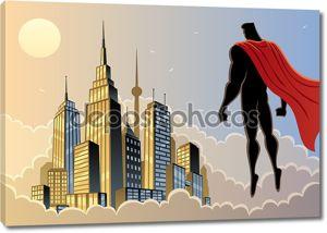 Супергерой часы 5