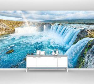 Годафосс -водопад в Исландии