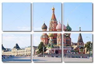 Красный площадь Васильевский спуск в Москве
