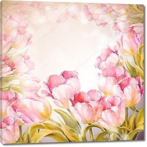 Тюльпаны весенние