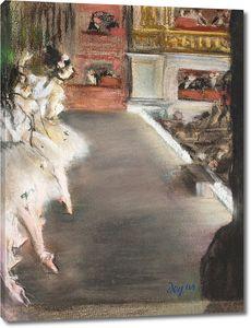 Дега - Танцовщицы в старом оперном театре