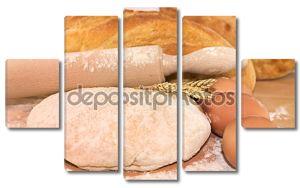 Натюрморт с хлебом,