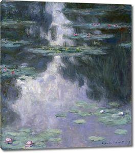 Кувшинки, Моне Клод, 1907
