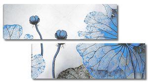 Мрачные синие цветы