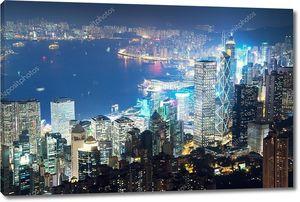 Гонконг от Пик Виктория