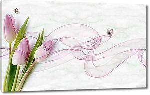 Тюльпаны в дымчатом шлейфе