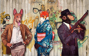 Животные-гангстеры