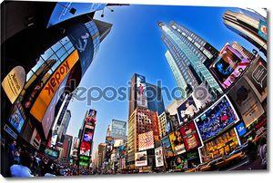Таймс-сквер является символом города Нью-Йорка