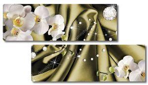 Орхидеи и россыпь страз