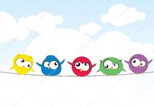 Птицы на проводе