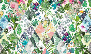 Растительный пэчворк