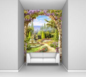 Арка в цветущий сад