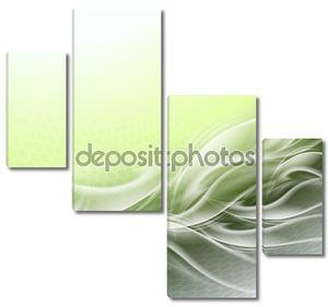 абстрактный второстепенный зеленый