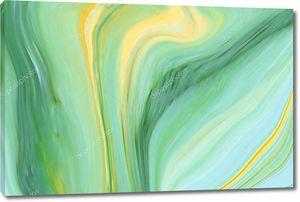 Мраморные чернила  зеленый мрамор