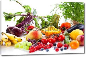 овощи, фрукты и ягоды