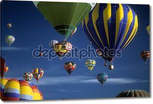 туристов ездить на воздушных шарах