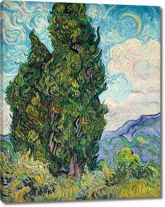 Ван Гог. Кипарисы