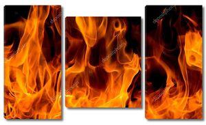 Фактура пламени