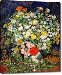 Ван Гог. Букет цветов в вазе