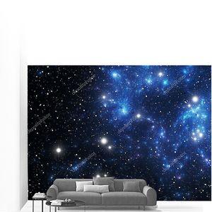 Звезды синие Космическая туманность