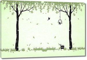 Качелька для птиц