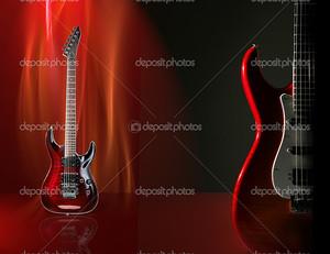 Электрическая гитара дизайн