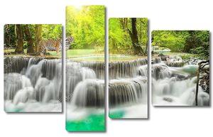 Водопад в области Канчанабури