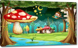 Домики-грибки