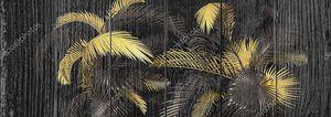 Экзотический ботанический дизайн